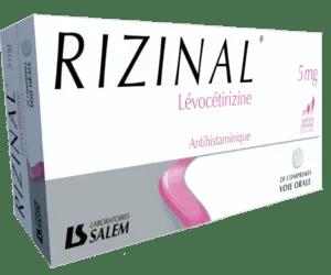 rizinal, rizinal 5mg, rizinal laboratoires salem, médicament des laboratoires salem, rhinite allergique, allergie