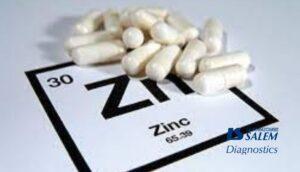 zinc, molucule de zinc, labosalem, diagnostic