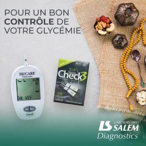 check3, salem diagnostic, diabete, glycémie